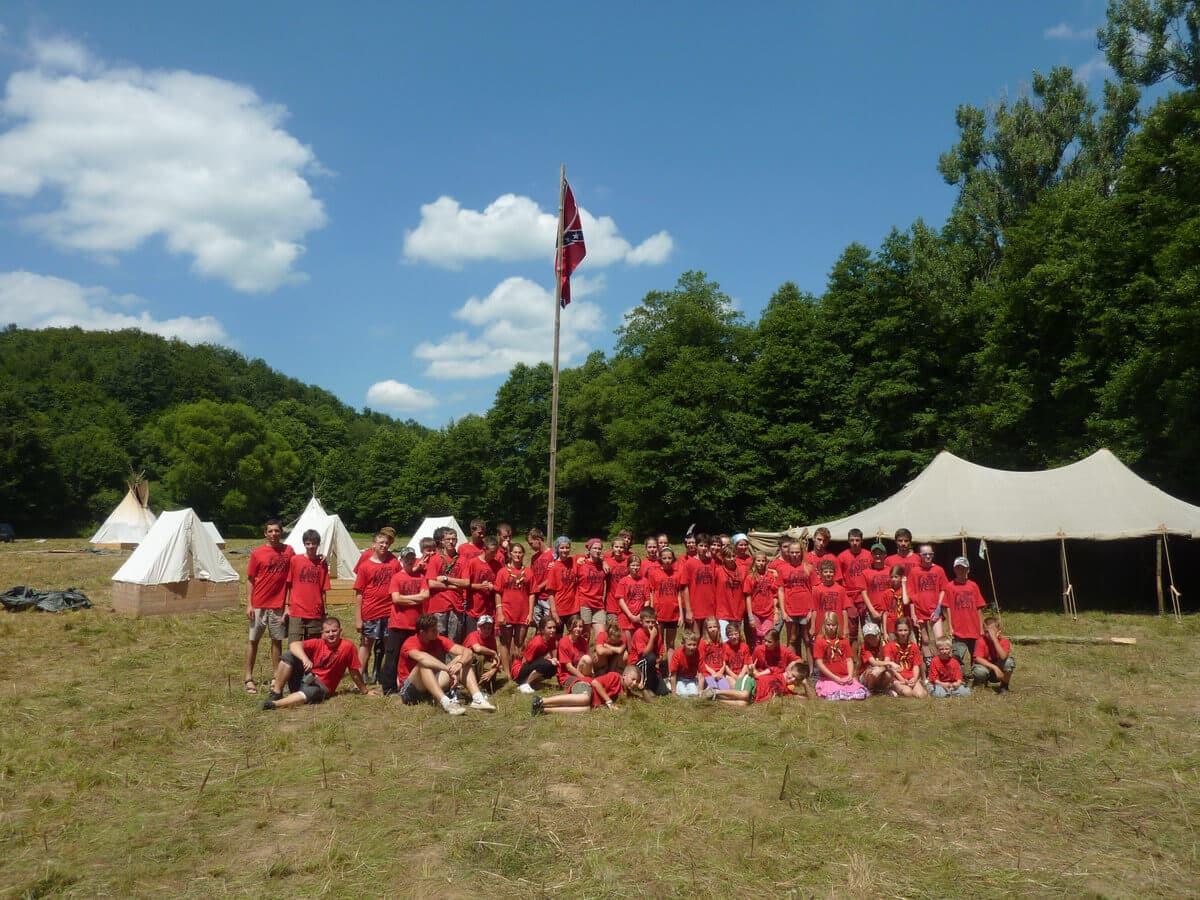 Skautský tábor 2013