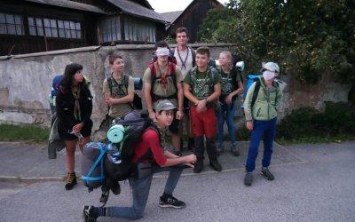 1. skautská oddielovka v Nízkych Tatrách