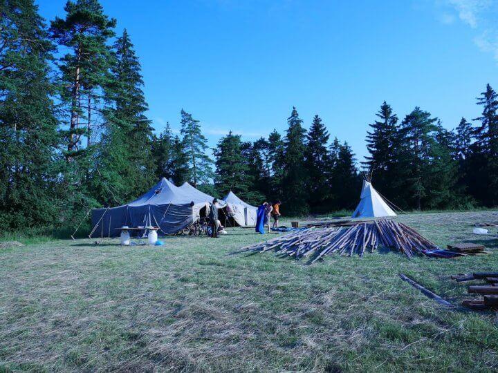 Skautsky tabor zem nepoznana 1