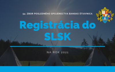 Registrácia do SLSK na rok 2021