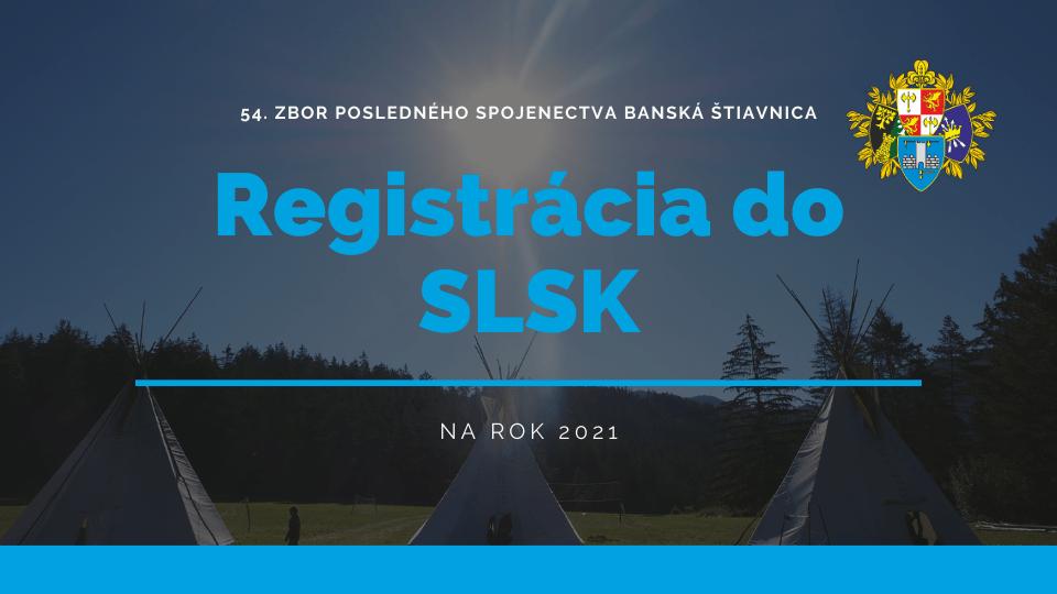 Registracia do SLSK